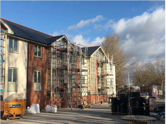 External Cladding and Wall Installation